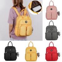 Womens Large Capacity Multi-Pocket Waterproof Backpack Women Outdoor Rucksack UK