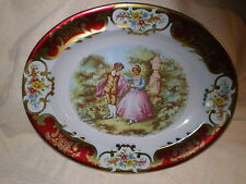 Daher Decorated Tin Ware Platter, Vintage England