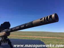 7mm Magnum Remington  High Performance Muzzle Brake 5/8x24 TPI | CUSTOMIZE IT!