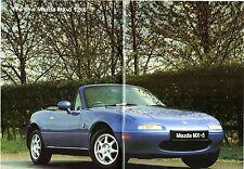 Mazda MX-5 1994-1995 UK Market Sales Brochure 1.8i & 1.8iS