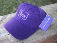 "Women's Banded Gear ""b"" Logo Casual Hat Cap Purple with b Logo Adjustable"