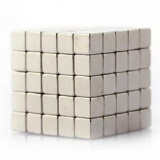 100X Neodymium Super Strong Magnets 3mm Cube N35 Rare Earth Disc Top Sold New