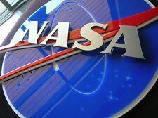 Nasa 3D Sign art Ufo movie New series Moon Space Blue Book star men in black