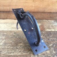 Vintage BLACKSMITH MADE IRON LATCH Old Antique HOME Renovation Tool #50
