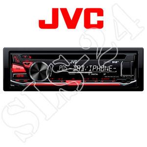 JVC KD-DB67 Autoradio DAB+ CD USB iPod iPhone digital Radio mit Antenne B-Ware
