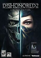 Dishonored 2 + Imperial Assassin's DLC (Global Steam PC Download Key) Free Ship