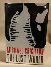 "Micheal Crichton ""The Lost World"" 1st Edition Frist Print 1995"