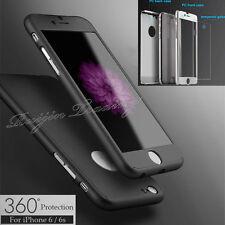 De luxe Hybride verre trempé + Acrylique Neuf Coque Rigide pour iPhone 6 6S Plus