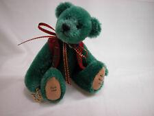 """World of Miniature Bears 4""""  German Mohair Bear Yule #868 CLOSING"""