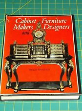 CABINET MAKERS AND FURNITURE DESIGNERS by HIGH HONOUR 1972 HC W/DJ