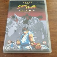 Street Fighter Alpha The Movie DVD R4 Like New! FREE POST