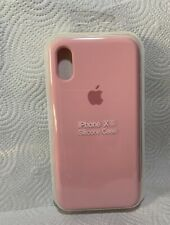 Original Apple iPhone X / Xs Silikon Case in Rosa