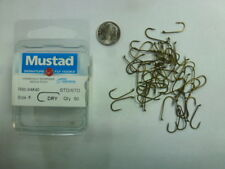 Mustad Dry Fly Hooks Size 8, Model 94840, 50 to a Box. Signature Fly Hooks