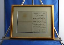 "Very Rare King Edward VIII Fine Signed ""Eddie"" Personal Letter Authentic Nov 14"