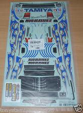 Tamiya 58514 Mud Blaster II/WT-01, 9495704/19495704 Decals/Stickers, NIP