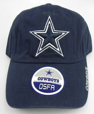 DALLAS COWBOYS NFL NAVY REEBOK OSFA ONE SIZE UNSTRUCTURED RELAXED CAP HAT NEW!