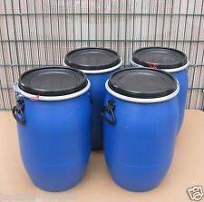 4 x 60 Liter Maischefass Kunsstoffdeckelfass NEU & UNBENUTZT