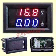 Two Colour Digital LED Voltmeter Ammeter DC 100V 10A Volt Amp Monitor LCD Panel