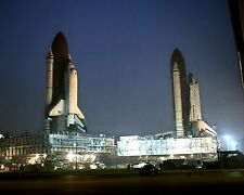 SPACE SHUTTLES ATLANTIS AND COLUMBIA 8X10 GLOSSY PHOTO PICTURE