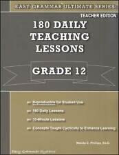 Easy Grammar Ultimate Series: 180 Daily Teaching Lessons Grade 12