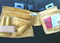 Tool Belts Pouches Pockets Leather Work Belt Loops Tools Apron Home Construction