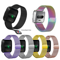 Milanese Loop For FITBIT VERSA 2 /Lite Magnetic Stainless Steel Watch Band Strap