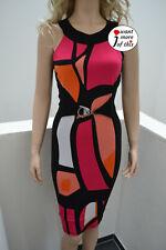 Designer Joseph Ribkoff Kleid Dress color mehrfarbig UK 12 DE 38