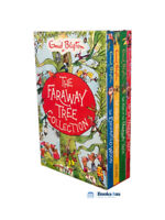 Enid Blyton The Magic Faraway Tree Collection 4 Books Box Set Pack Up The Tree,