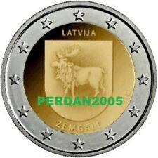 LETTONIA 2018 2 EURO ZEMGALE REGIONI STORICHE NR 4/4 LATVIA LETTONIE ЛАТВИЯ