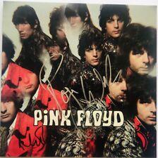 Pink Floyd signed album Roger Waters Nick Mason piper at the gates dawn fa loa