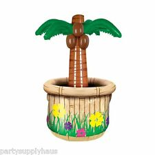 Tropical Beach Luau INFLATABLE PALM TREE COOLER Jungle Safari Party Decoration