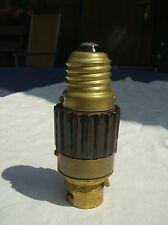 Bauhaus Glühbirnen Fassung/Adapter - Made.in England - VINTAGE  Bajonettfassung