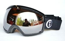 2018 NWT ELECTRIC EG2 SNOWBOARD GOGGLES $140 Thrasher / Brose-Silver Chrome