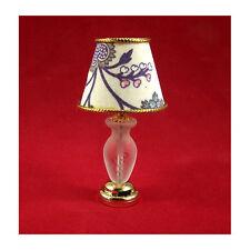Creal 2224 Tischlampe Schirm LED mit Batterie 1:12 für Puppenhaus NEU! #