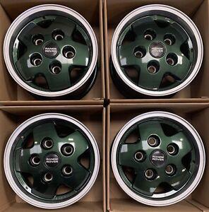 "Genuine Land Rover Range Rover Classic CSK LSE 16"" 5 Spoke Alloy Wheels x4"
