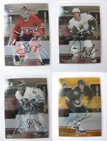 2001-02 BaP Signature Be a Player #161 Hackett Jeff  autograph  canadiens