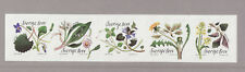 Sweden 2018 MNH - Nature`s Larder - Wild Flowers - set of 5 stamps
