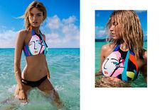 Costume Da Bagno Triangolo Lacci Bikini string slim sling Swimwear Swimsuit M