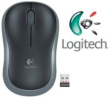 Logitech Wireless Mouse M185 | 2.4 GHz Wireless | For PC & Mac - Swift Gray