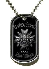 Motorhead - Dog Tag Necklace - Bad Magic - War Pig - UK Import- Licensed New