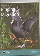 BIRD RINGING AND MIGRATION - BTO JOURNAL JUNE 2014 / STORM PETREL / BEARDED TIT