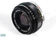 Olympus 50mm f/1.8 OM Mount Manual Focus Lens