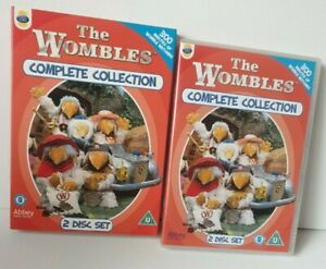 The Wombles - The Complete Collection (2 Disc DVD Set) Series 1 & 2 + Slipcover