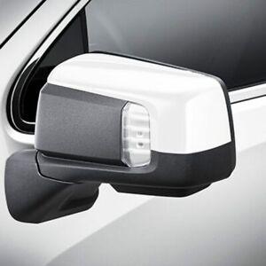 2019-2020 Silverado Sierra 1500 Summit White Outside Mirror Caps 84612941 OE GM
