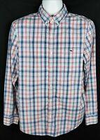 Vineyard Vines Slim Fit Tucker Shirt Mens M Long Sleeve Button Front Plaid