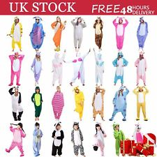 Ladies Mens Unicorn Pyjamas Unisex Animal Xmas onesie17 Cosplay Costume Pajamas