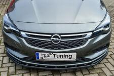 Sonderaktion Spoilerschwert Frontspoiler Cuplippe aus ABS für Opel Astra K ABE