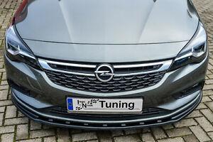 Sonderaktion Spoilerschwert Frontspoiler aus ABS für Opel Astra K Sports Tourer
