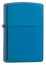 Zippo Windproof Sapphire Blue Lighter, # 20446, New In Box