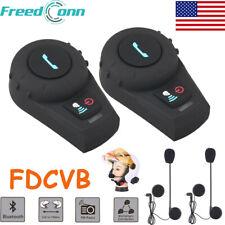 FDCVB 500M 3 Riders BT Intercom Motorcycle Bluetooth Helmet Headset System
